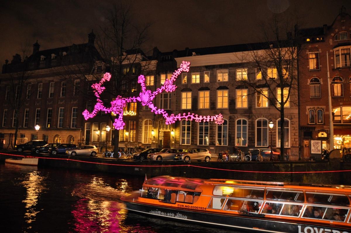 3 tips for the light and art lovers – Amsterdam lightfestival